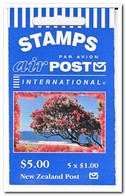 Nieuw Zeeland 1996, Postfris MNH, Trees ( Booklet, Carnet ) - Boekjes