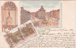 CPA Bruxelles - Mannekens Pis - Le Petit Sablon Et Les Boulevards Du Nord Et De La Senne - 1900 - Panoramische Zichten, Meerdere Zichten