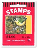 Nieuw Zeeland 1996, Postfris MNH, Birds ( Booklet, Carnet ) - Boekjes