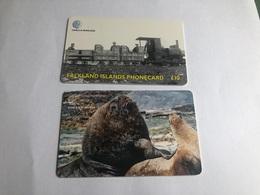 Falkland Island - 2 Chip Cards - Falkland Islands