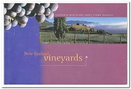 Nieuw Zeeland 1997, Postfris MNH, Vineyards ( Booklet, Carnet ) - Boekjes