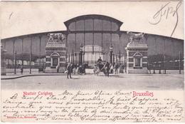 CPA Bruxelles - Abattoir Cureghem (Abattoir D'Anderlecht) - 1903 - Anderlecht