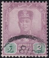 Johore     .   SG     .  89    Multiple Crown        .      O         .     Cancelled      .   /    .  Gebruikt - Johore
