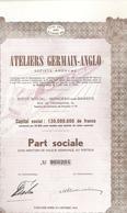 Lo T - 5 X - Ateliers Germain - Anglo - Monceau Sur Sambre - Chemin De Fer & Tramway