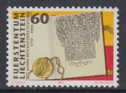 Liechtenstein 1994 275J. Reichsfürstentum 1v ** Mnh (43159) - Nuovi