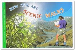 Nieuw Zeeland 1999, Postfris MNH, Scenic Walks ( Booklet, Carnet ) - Boekjes