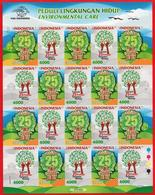 Indonesia Imperf  MS 2017 Inveronmentar Care MNH - Indonesia