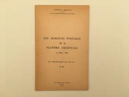 Les Marques Postales De La Flandre Orientale - Département De L'Escaut - Herlant - Philatelie - Filatelie - Gent - Gand - Poste & Facteurs