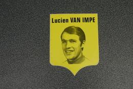 Renner Cyclisme Aalst Mere Lucien Van Impe Gele Zelfklever - Cycling