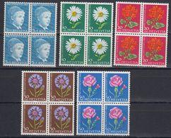 Switzerland 1963 Pro Juventute 5v Bl Of 4 ** Mnh (43160) - Pro Juventute