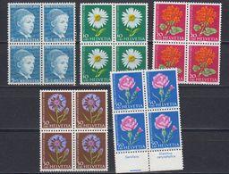 Switzerland 1963 Pro Juventute 5v Bl Of 4 ** Mnh (43161) - Pro Juventute