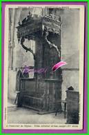 CPA (50 Manche)  - OMONVILLE LA ROGUE - Intérieur De L'Eglise Trône Abbatral En Bois Sculpté XV Siècle - Otros Municipios