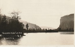 Vasseaux Lake, British Columbia Real Photo Post Card - British Columbia