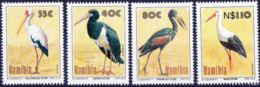Namibie 732/35 ** - Grues Et Gruiformes
