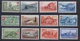Switzerland 1944 + 1945 + 1946 Pro Patria 3x4v ** Mnh (43162) - Pro Patria
