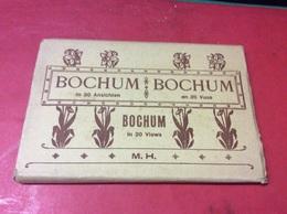 BOCHUM.  In 18 Ansichten.  Éditor. M'H - Bochum