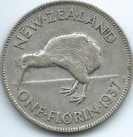 New Zealand - George VI - 1937 -Florin - KM10.1 - Nouvelle-Zélande