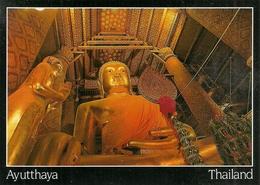 Ayutthaya (Thailand) An Uthong Style Image At Wat Phanan Choeng - Tailandia
