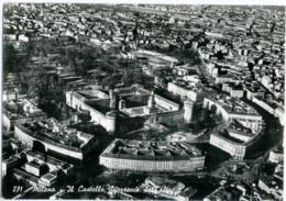 MILANO  Panorama Aereo Castello Sforzesco E Stadio Dell'Arena  Stadium Stade - Milano (Milan)