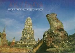 Ayutthaya (Thailand) Wat Ratchaburana, World Of Heritage - Tailandia