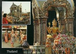 Bangkok (Thailand) Erawan Shrine, Dedicated To Siva Most Importing Gods In The Hindu Religion - Tailandia