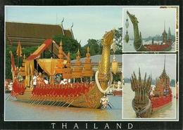 Bangkok (Thailand) The Royal Barges, Suphannahong And Anantanagaraj - Tailandia