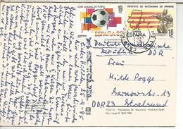 BALEARES TP CON SELLOS MUNDIAL DE FUTBOL FIFA Y ESTATUTO AUTONOMIA ARAGON - 1931-Hoy: 2ª República - ... Juan Carlos I