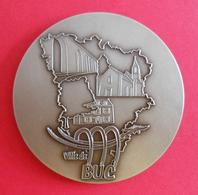 Médaille En Métal Blanc - Département Des Yvelines - Ville De Buc - Professionnels / De Société