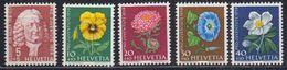 Switzerland 1958 Pro Juventute 5v ** Mnh (43164) - Pro Juventute