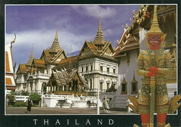 Bangkok (Thailand) The Grand Palace, Chakri Hall - Tailandia