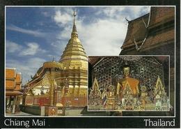 Chiang Mai (Thailand) Main Buddha Image In Wat Pra Thad Doi Suthep - Tailandia