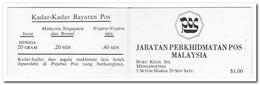 Maleisië 1983, Postfris MNH, Flowers ( Booklet, Carnet ) - Maleisië (1964-...)