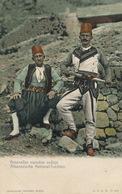 Albanesische National Trachten  Edit Radimir Kotor Montenegro  Undivided Back  Colored - Albanie
