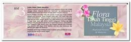 Maleisië 1997, Postfris MNH, Flowers ( Booklet, Carnet ) - Maleisië (1964-...)