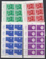 Switzerland 1963 National Swiss Exhibition 4v Bl Of 10 ** Mnh (43165) - Zwitserland