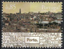 Portugal 2017 Oblitéré Used As Nossas Cidades Nos Villes Vue De Porto SU - 1910-... République