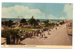 Tarjeta Postal Circulada Southend On Sea. - Southend, Westcliff & Leigh