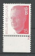 OCB 2450 ** Postfris Zonder Scharnier  Met Plaatnumeer 2 - 1990-1993 Olyff