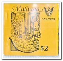 Sarawak 1987, Postfris MNH, Trees ( Booklet, Carnet ) - Maleisië (1964-...)