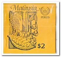 Perlis 1987, Postfris MNH, Trees ( Booklet, Carnet ) - Maleisië (1964-...)