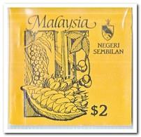 Negeri Sembilan 1987, Postfris MNH, Trees ( Booklet, Carnet ) - Maleisië (1964-...)
