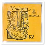Selangor 1987, Postfris MNH, Trees ( Booklet, Carnet ) - Maleisië (1964-...)