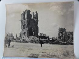 Ieper   *  (Photo Antony)  Halles D'Ypres - 1919 - Ieper