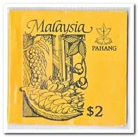 Pahang 1987, Postfris MNH, Trees ( Booklet, Carnet ) - Maleisië (1964-...)