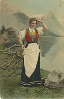 Varzo Novara Costume Colored Rounded Corners - Italie