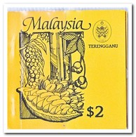 Terengganu 1987, Postfris MNH, Trees ( Booklet, Carnet ) - Maleisië (1964-...)