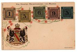 Tarjeta Postal Alemania. Escudos. - Sin Clasificación