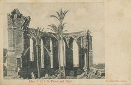 Church Of S.S. Peter And Paul Edit Caremfilaki Larnaca - Chypre