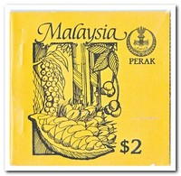 Perak 1987, Postfris MNH, Trees ( Booklet, Carnet ) - Maleisië (1964-...)
