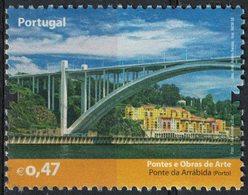 Portugal 2008 Sans Gomme D'origine Used Ponts Et Œuvres D'Art Pont De Arrábida Porto SU - 1910-... République